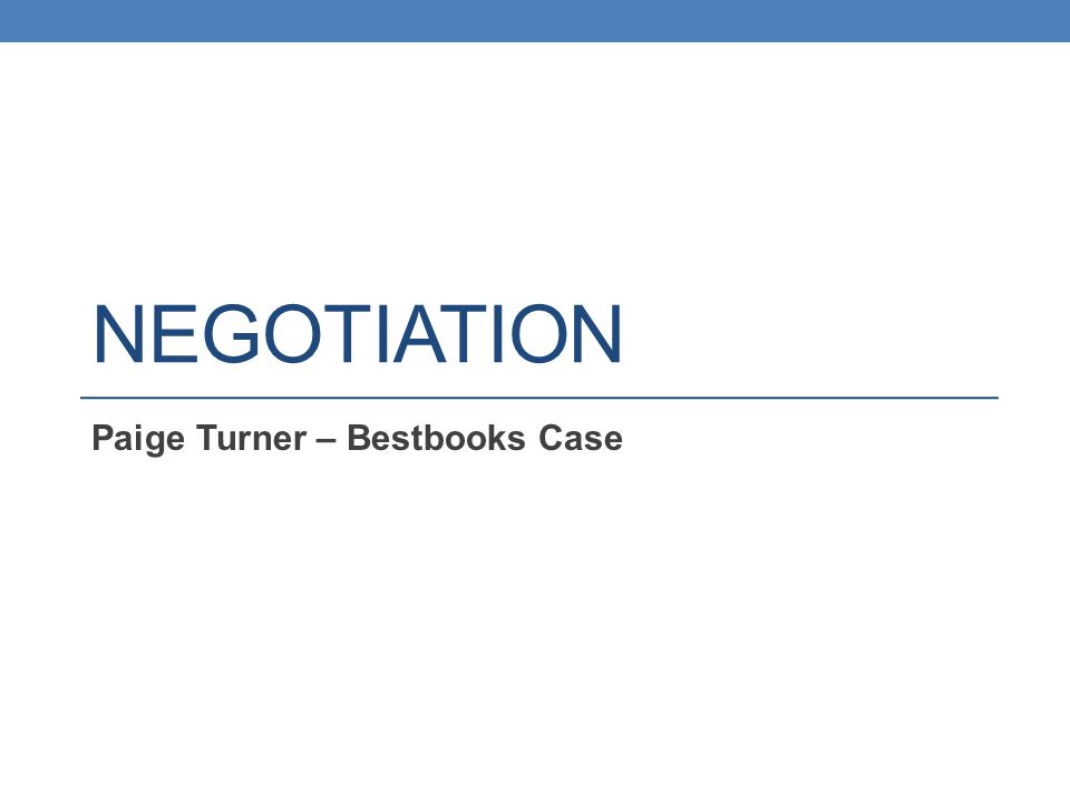 Paige Turner – Best books Contract negotiation between an author and a book company.