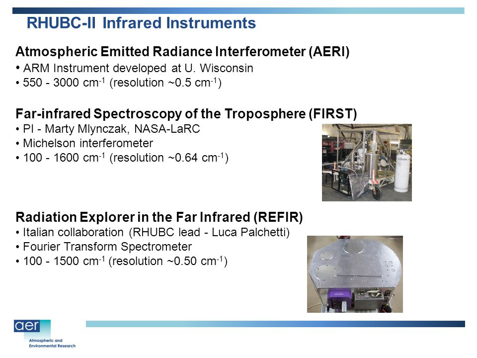 Atmospheric Emitted Radiance Interferometer (AERI) ARM Instrument developed at U.