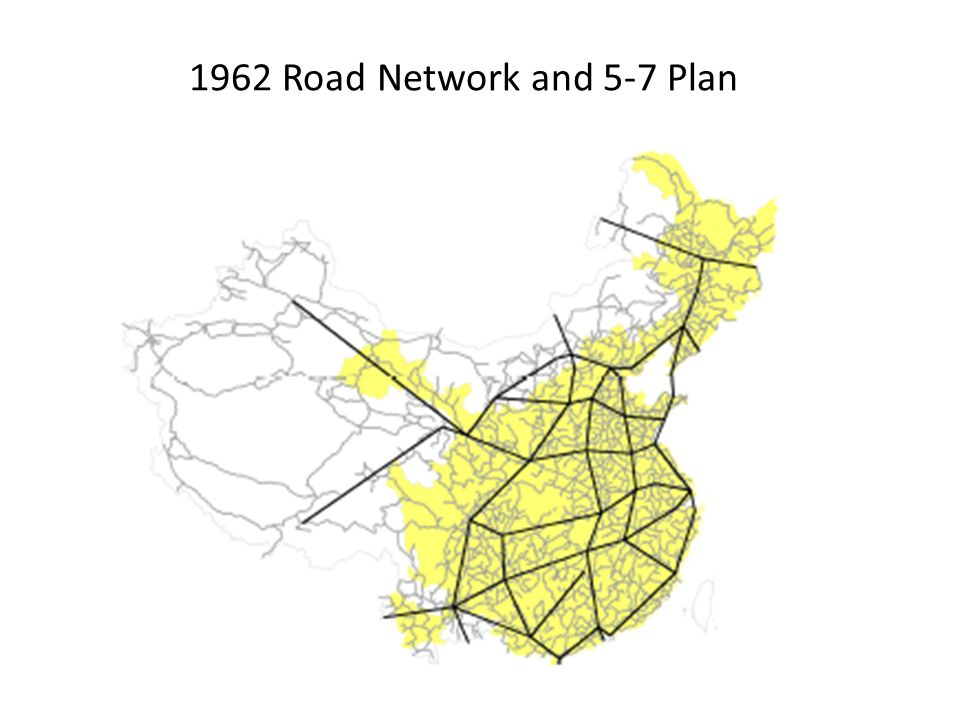 1962 Road Network and 5-7 Plan