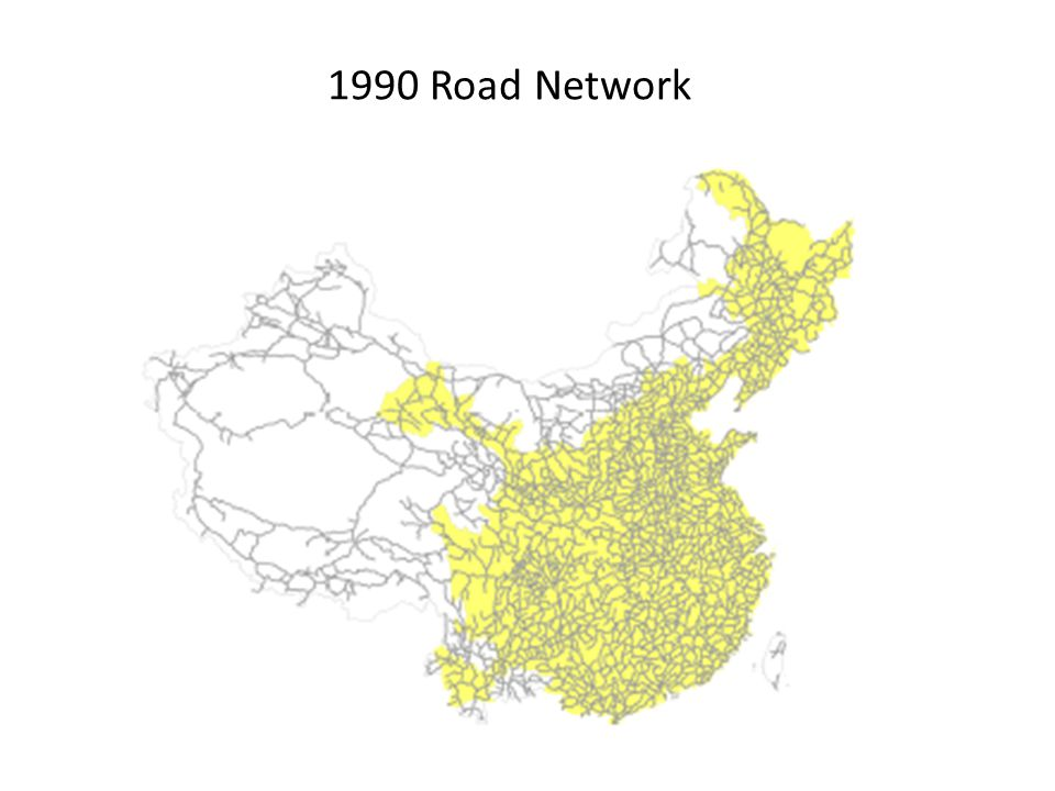 1990 Road Network