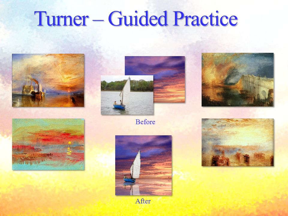 Turner – Guided Practice Before After
