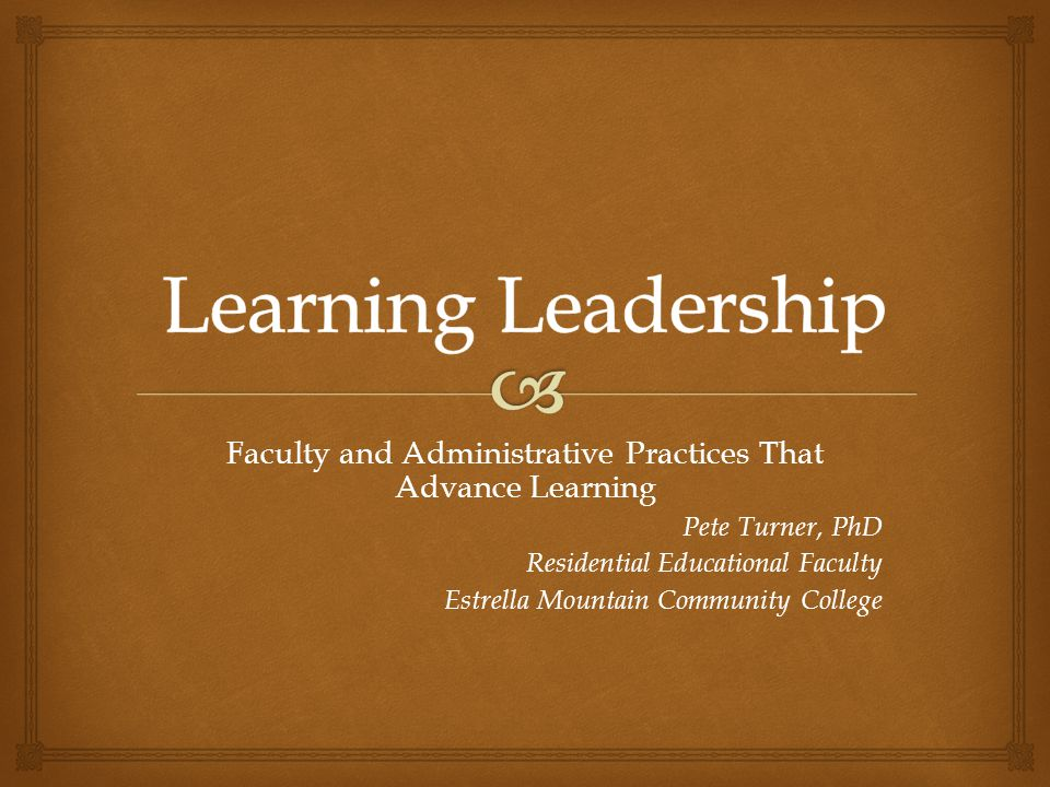  Learning Leadership Background Purpose Lit Review Findings ImplicationsRecommend So What's This About?