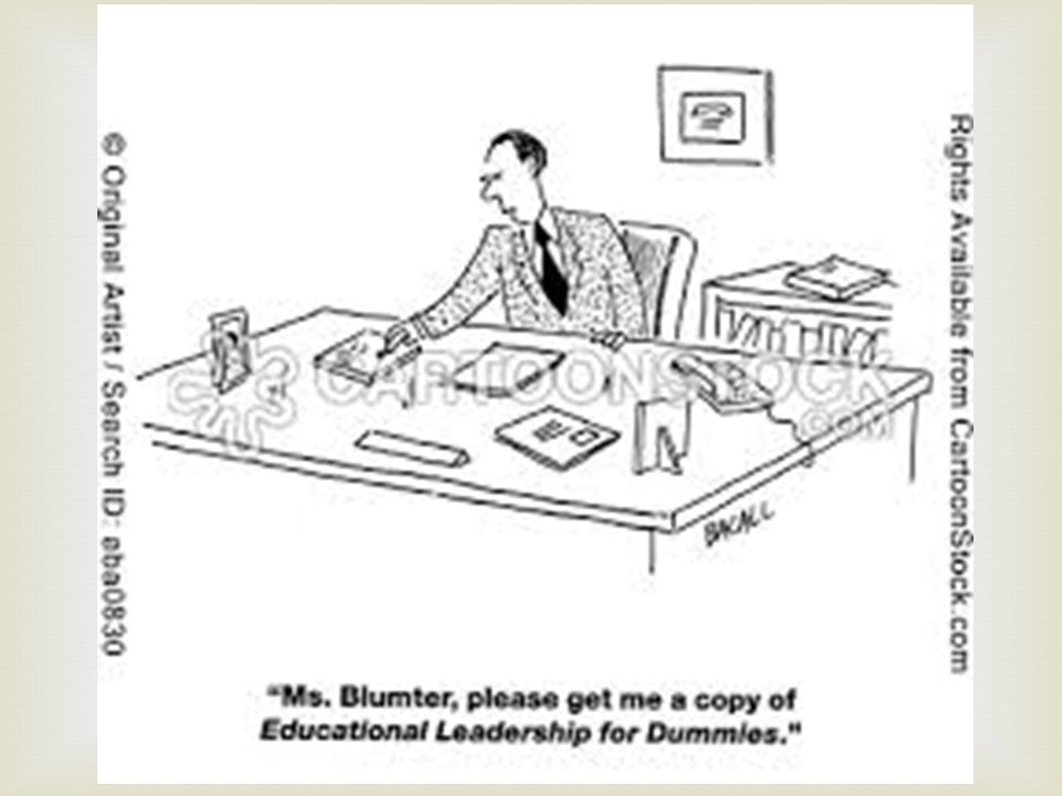   Of effective faculty. Of effective administrators.