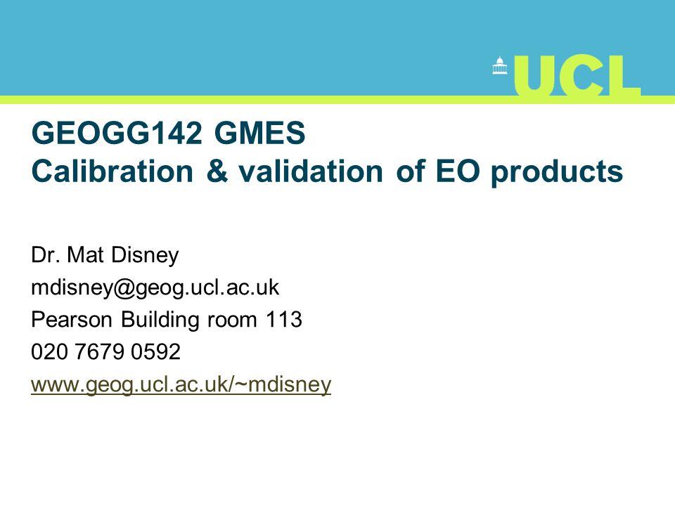 32 ESUs: CEOS WGCV LAI validation protocol