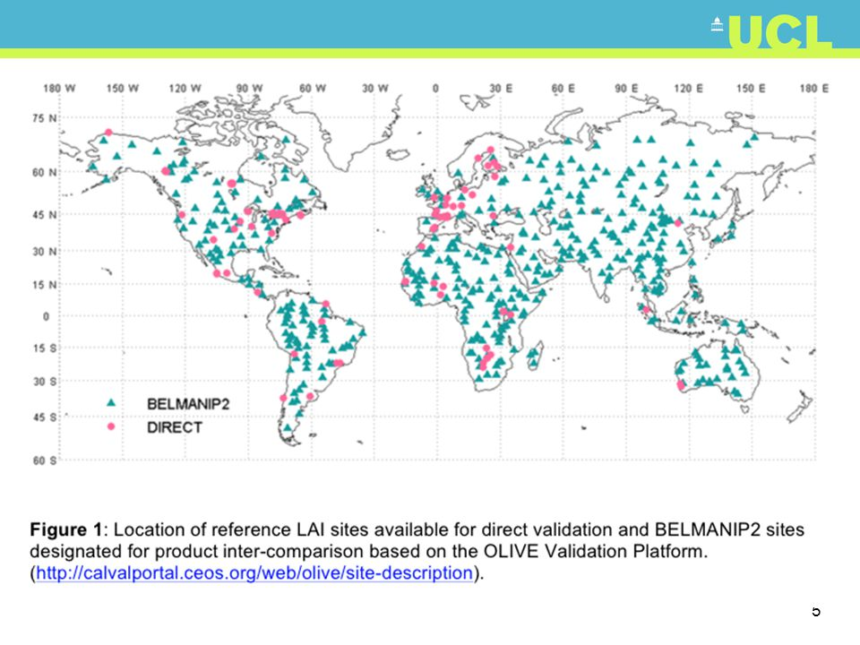 36 Example: MODIS core val sites http://landval.gsfc.nasa.gov/coresite_gen.html Justice et al.