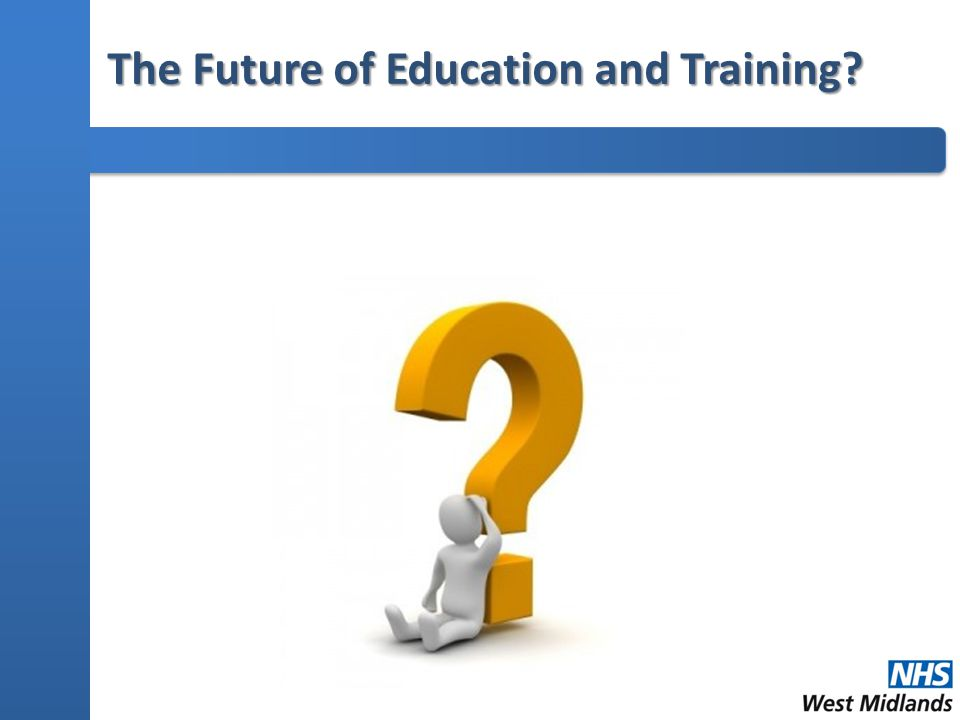 The Future of Education and Training