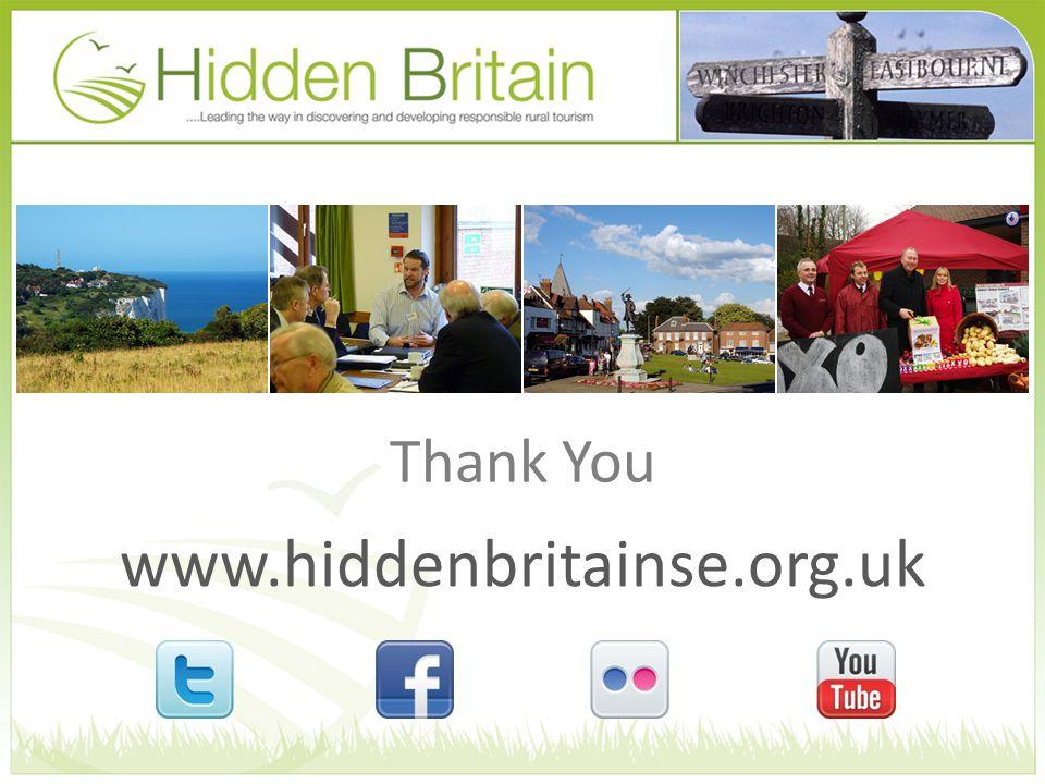 www.hiddenbritainse.org.uk Thank You