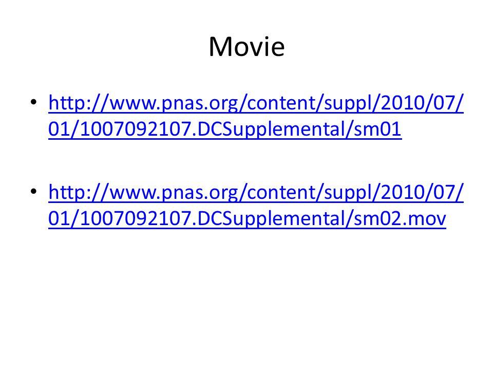 Movie http://www.pnas.org/content/suppl/2010/07/ 01/1007092107.DCSupplemental/sm01 http://www.pnas.org/content/suppl/2010/07/ 01/1007092107.DCSupplemental/sm01 http://www.pnas.org/content/suppl/2010/07/ 01/1007092107.DCSupplemental/sm02.mov http://www.pnas.org/content/suppl/2010/07/ 01/1007092107.DCSupplemental/sm02.mov
