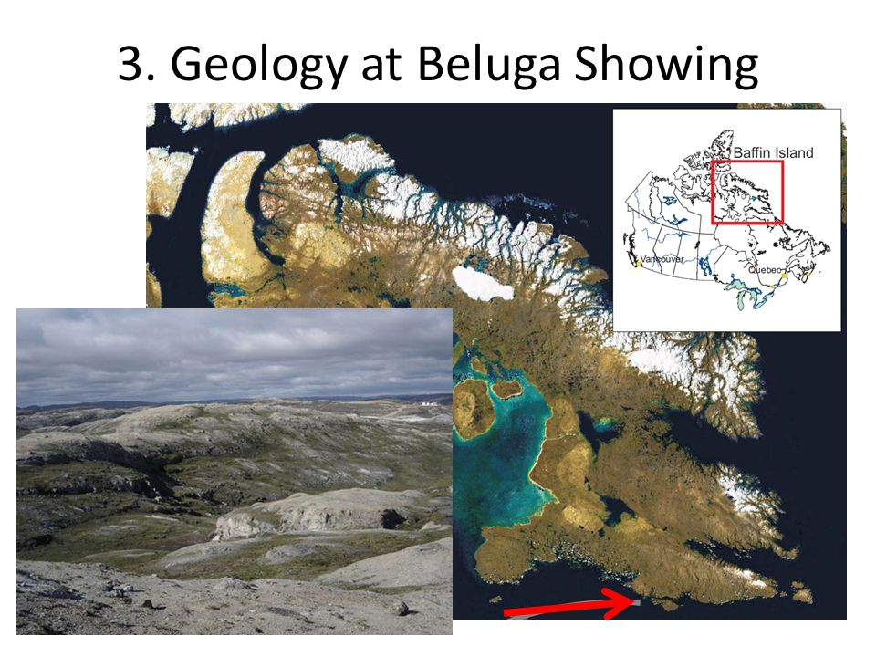 3. Geology at Beluga Showing