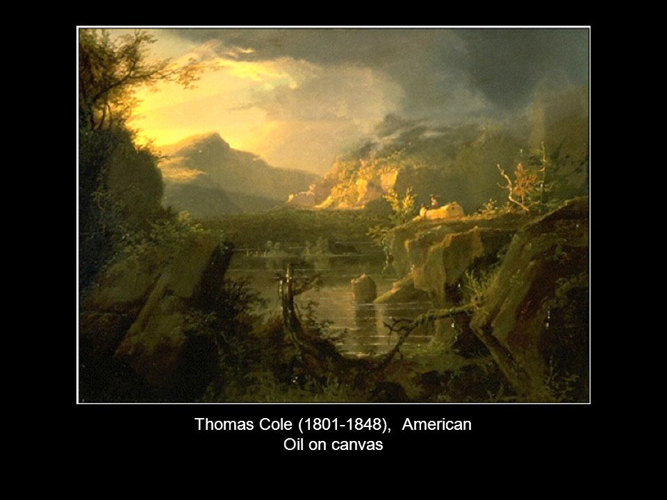 Thomas Cole (1801-1848), American Oil on canvas