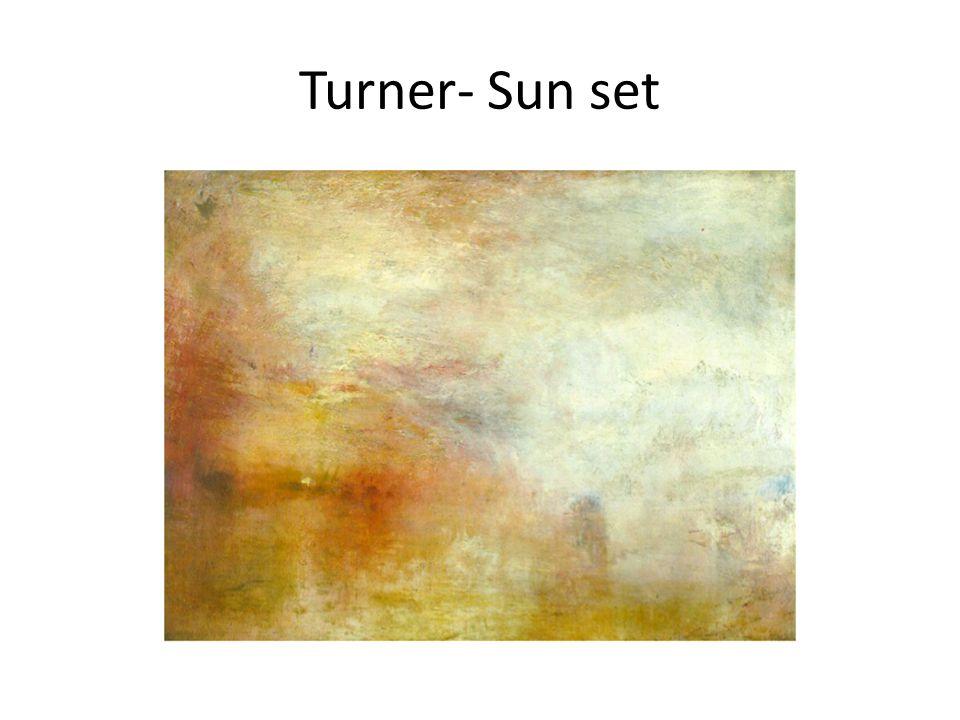 Turner- Sun set
