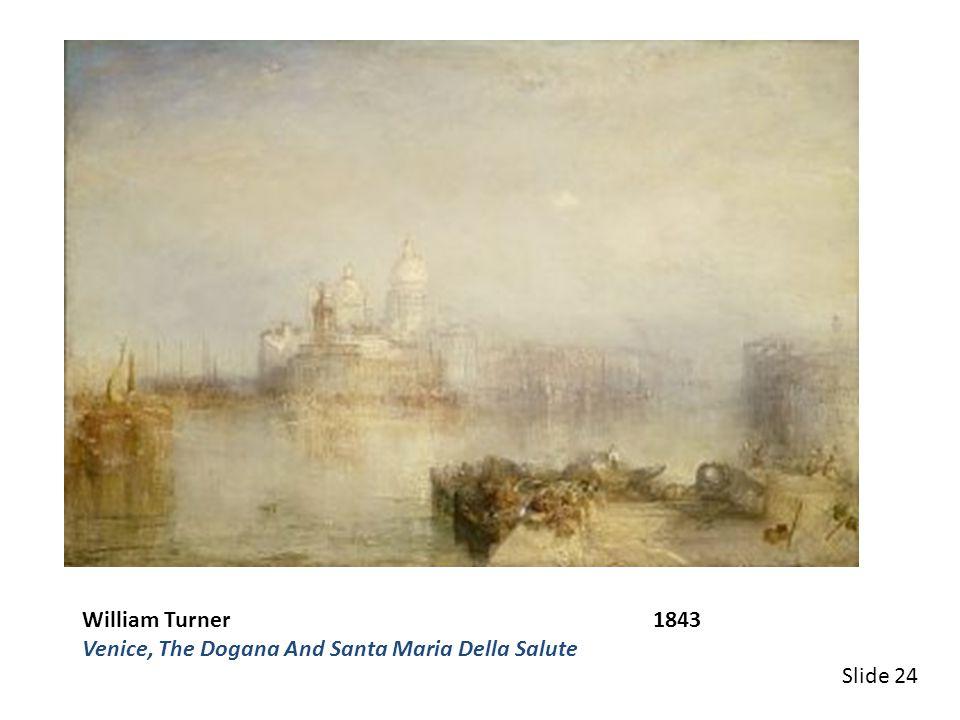 Claude Monet 1916-1919 Blue Water Lilies Slide 28