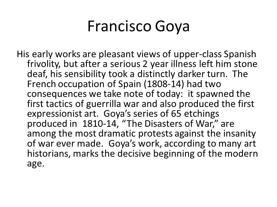Francisco Goya 1814 The Third of May 1808 Slide 25