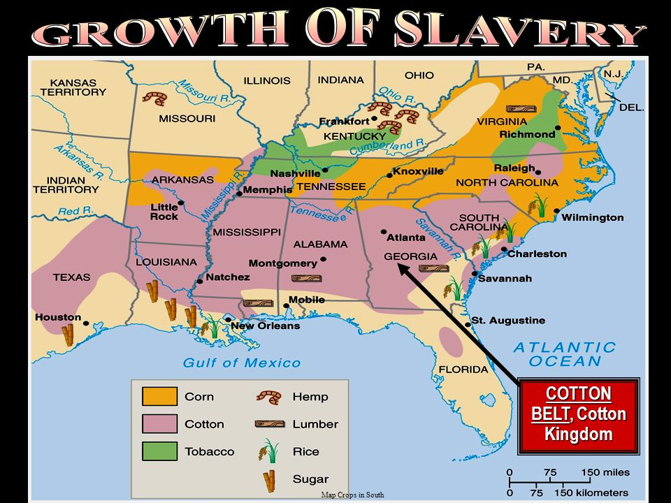 Trial of tears 33 million U.S. population, 4 million slaves in the South