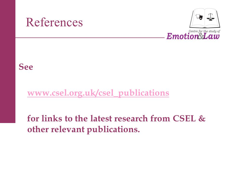 See www.csel.org.uk/csel_publications for links to the latest research from CSEL & other relevant publications.