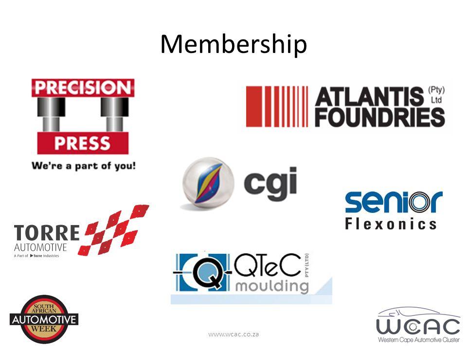 Membership www.wcac.co.za
