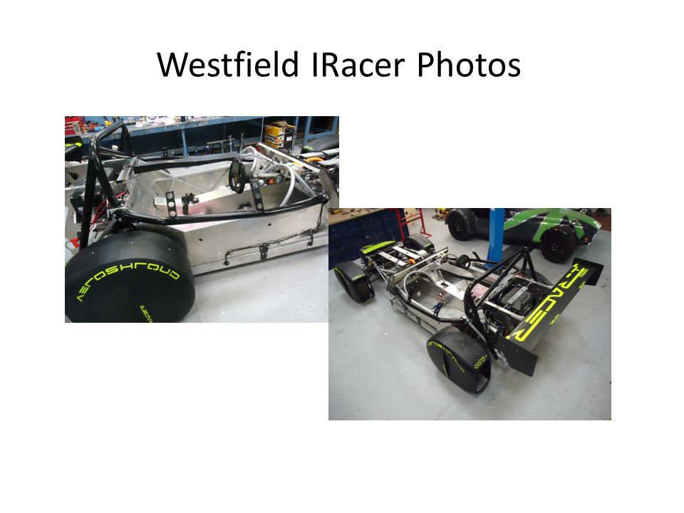 Westfield IRacer Photos