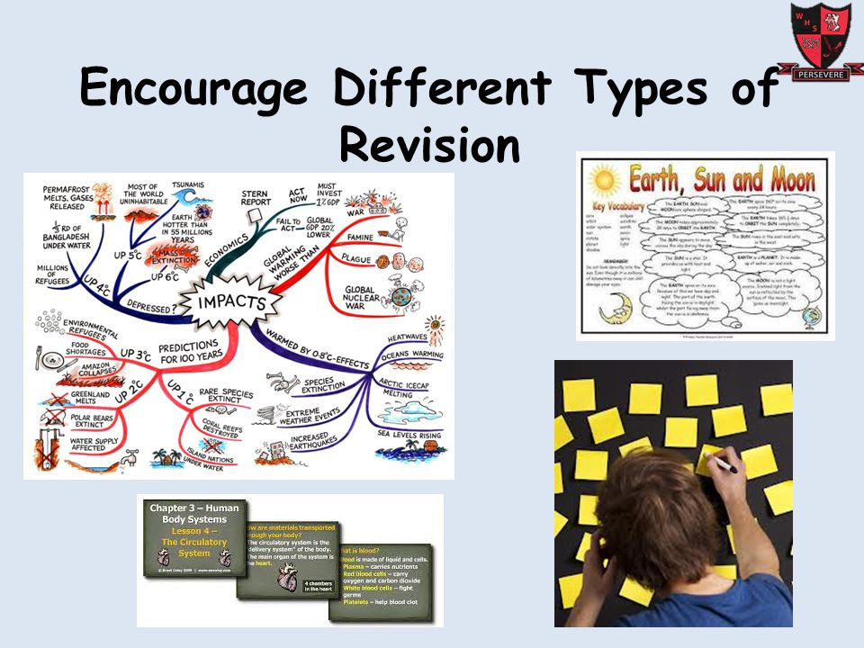 Encourage Different Types of Revision