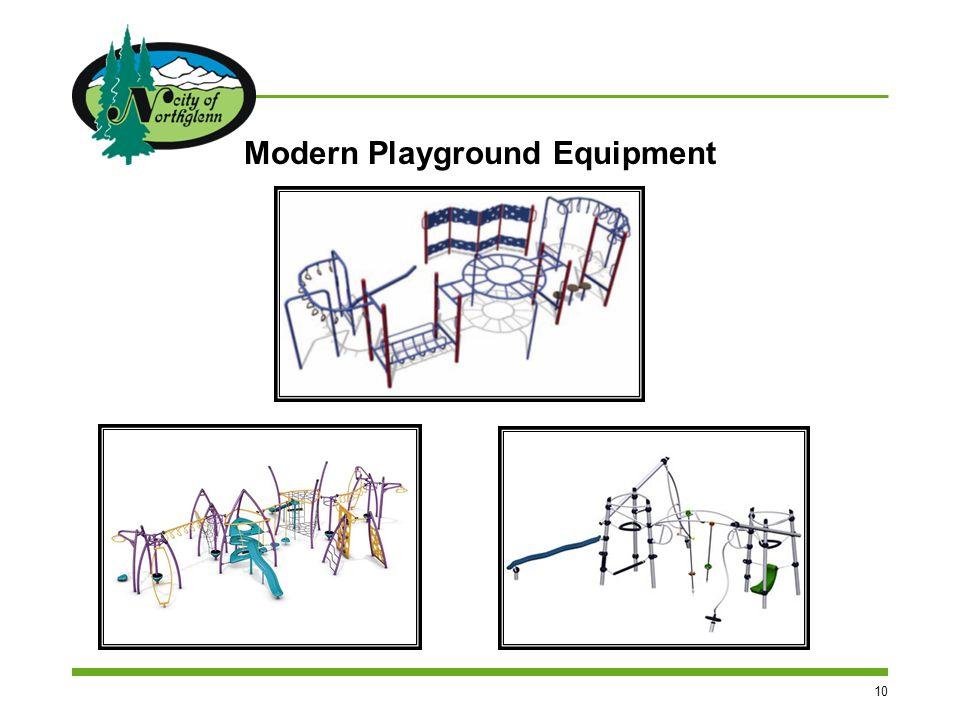 10 Modern Playground Equipment