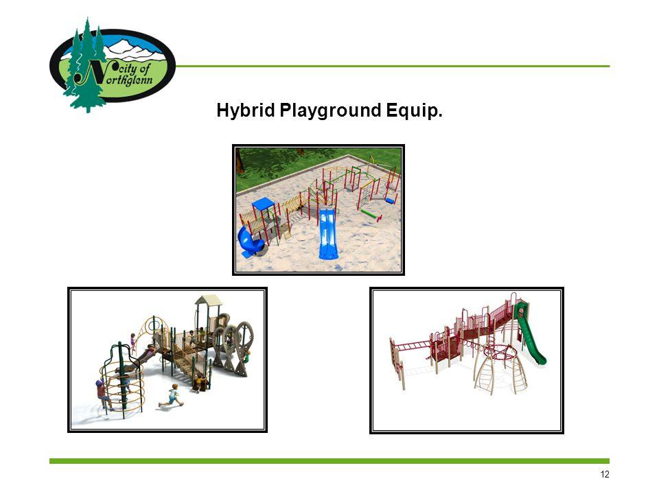 12 Hybrid Playground Equip.