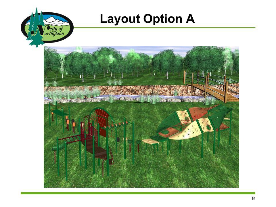 15 Layout Option A