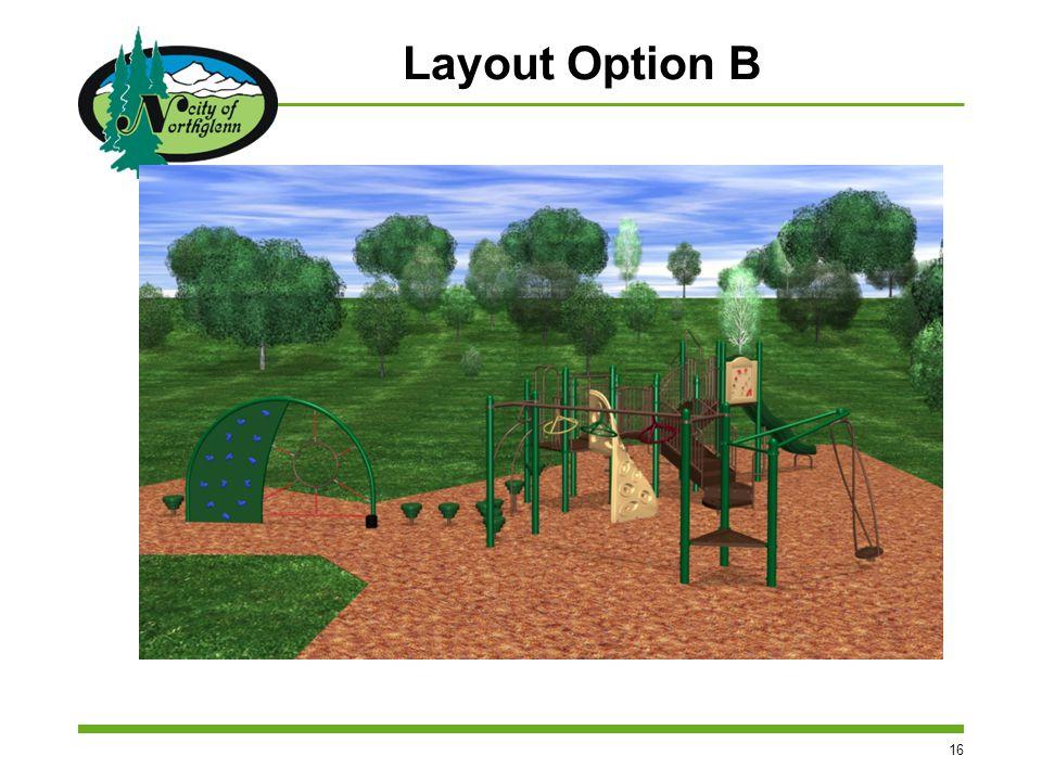 16 Layout Option B