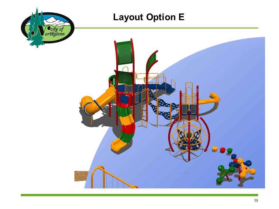 19 Layout Option E