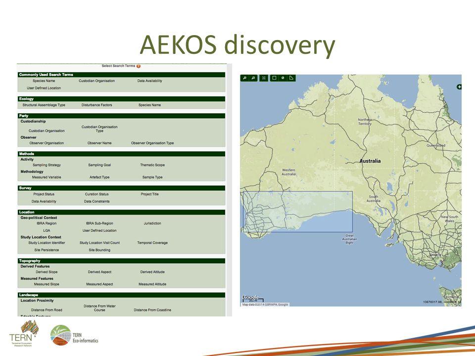 AEKOS discovery