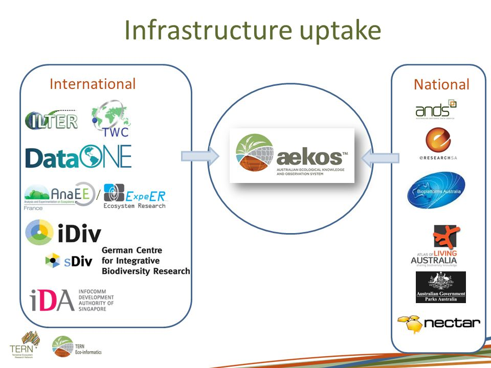 / Infrastructure uptake International National