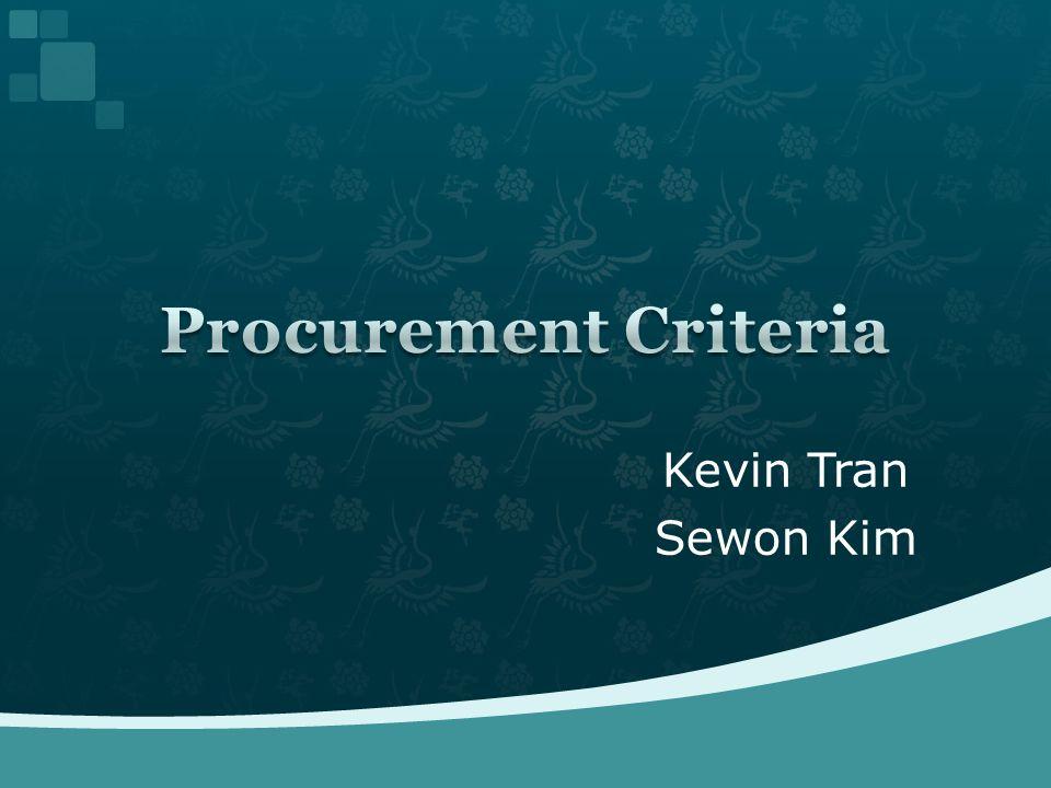 Kevin Tran Sewon Kim
