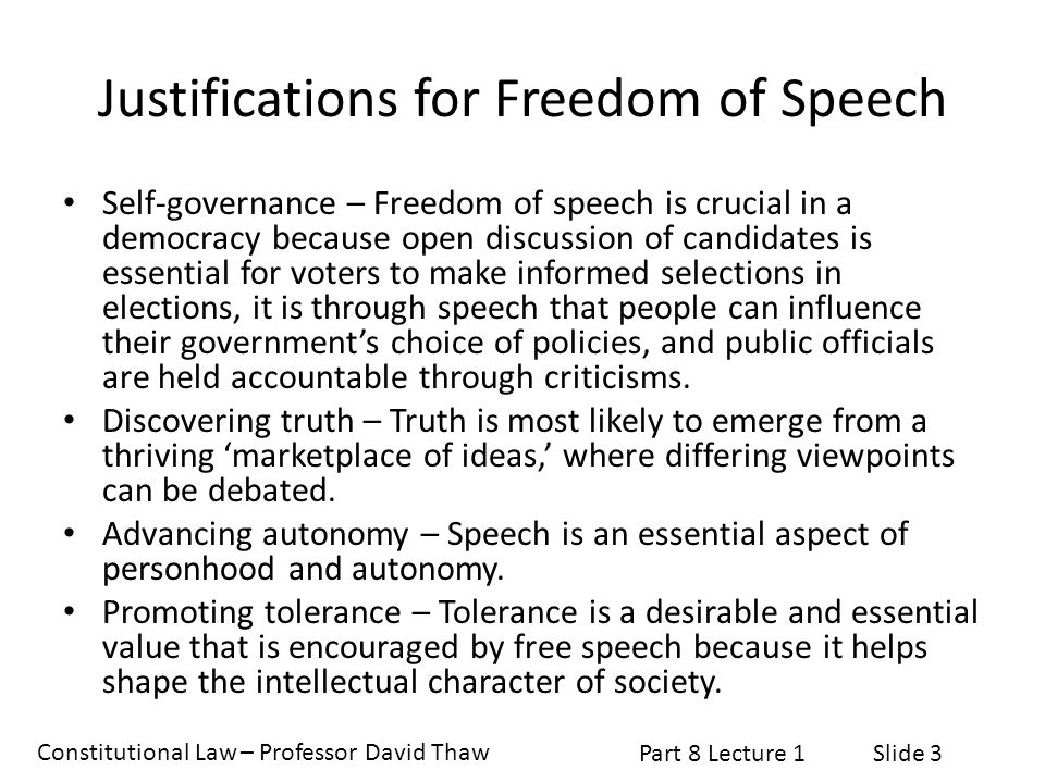 Constitutional Law – Professor David Thaw Part 8 Lecture 1Slide 14 Near v.