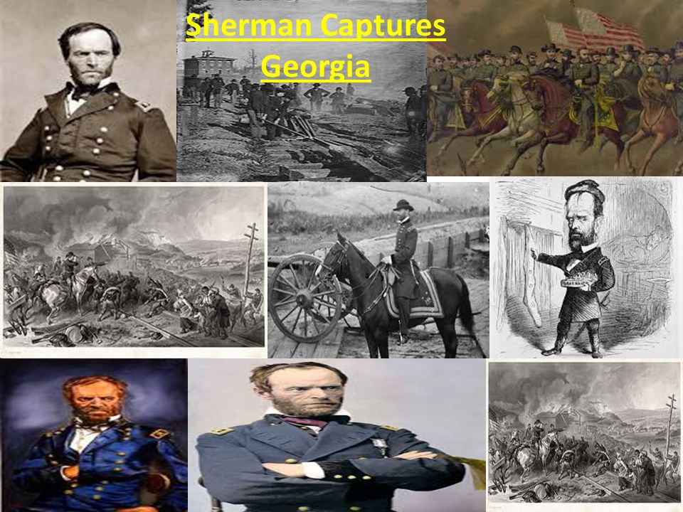 Sherman Captures Georgia