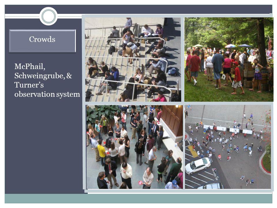  Mobs  celebratory mobs  lynch mobs  hooliganism  riots  flash Crowds  Panics  escape  acquisition
