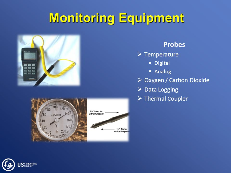 Monitoring Equipment Probes  Temperature  Digital  Analog  Oxygen / Carbon Dioxide  Data Logging  Thermal Coupler