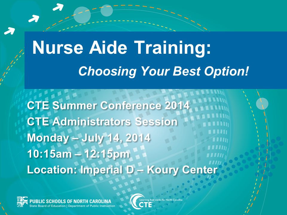 Nurse Aide Training: Choosing Your Best Option.