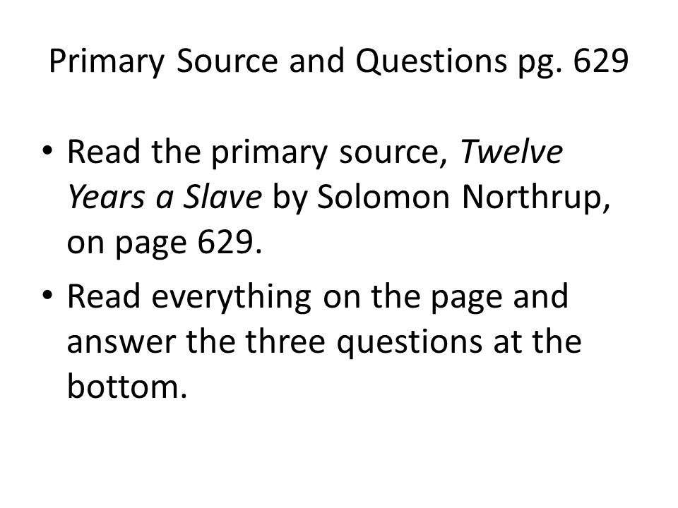 Primary Source and Questions pg.