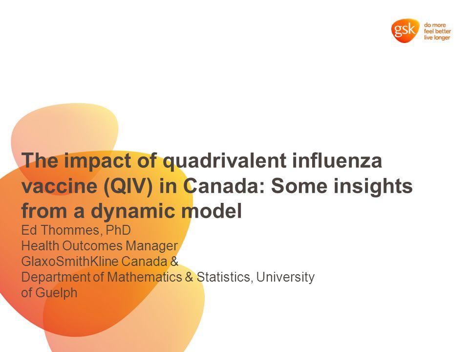 4Strain dynamic influenza model team: Chris Bauch Professor, Dept.