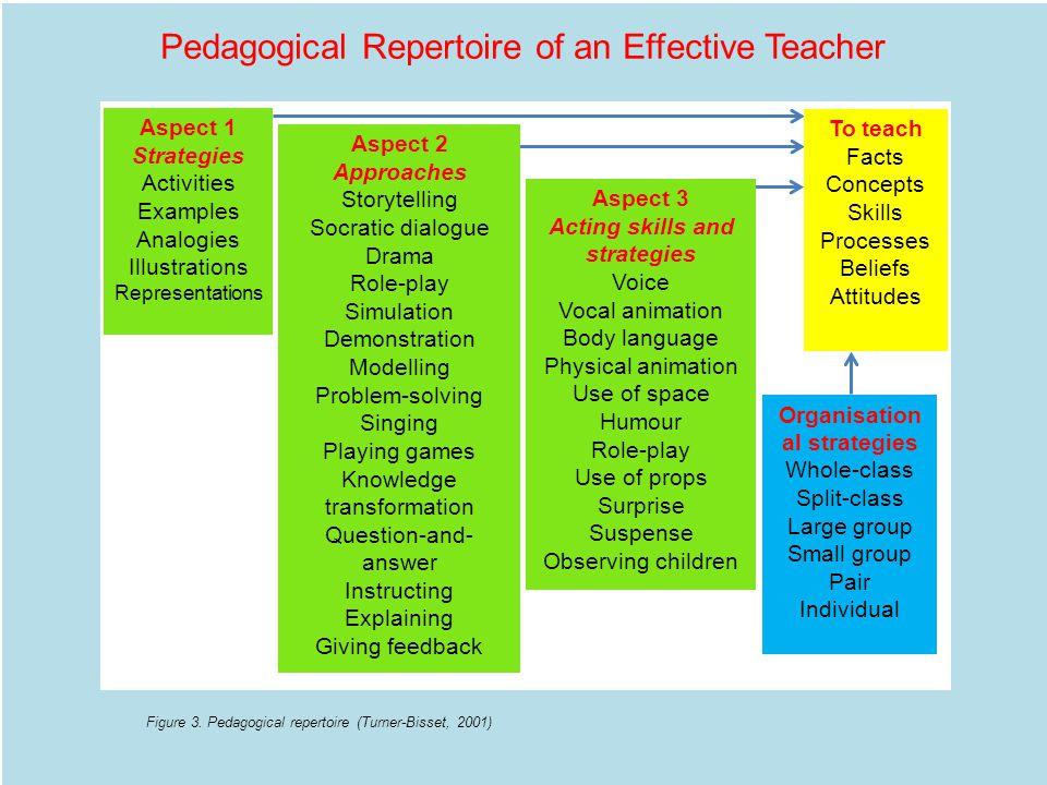 Pedagogical Repertoire of an Effective Teacher Figure 3.
