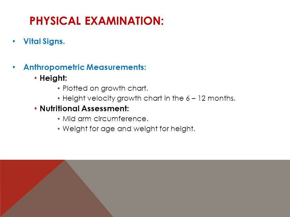 PHYSICAL EXAMINATION: Vital Signs.