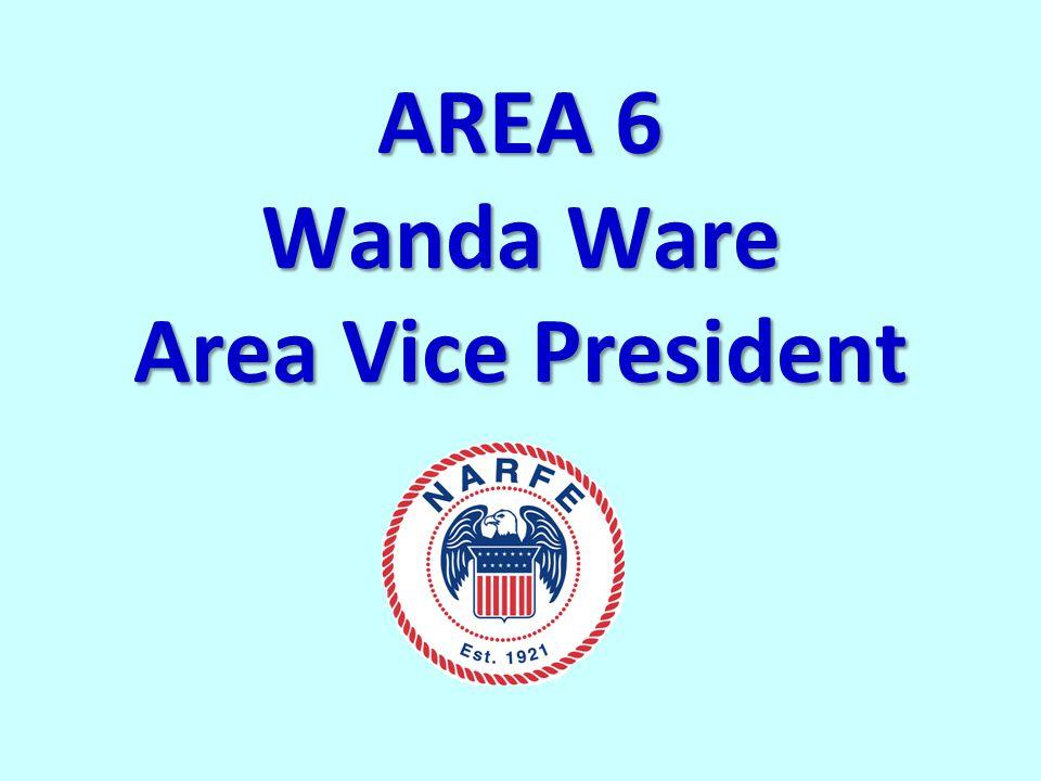AREA 6 Wanda Ware Area Vice President