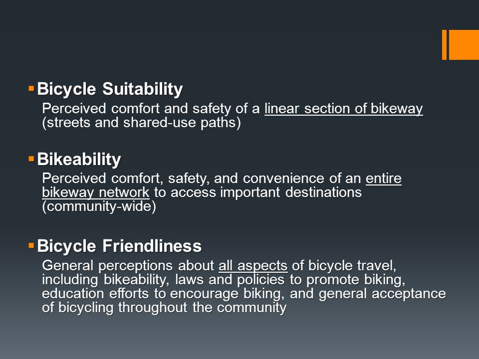 Bikeability Tools Pull in, open, and look at parcel file, but don't Execute.