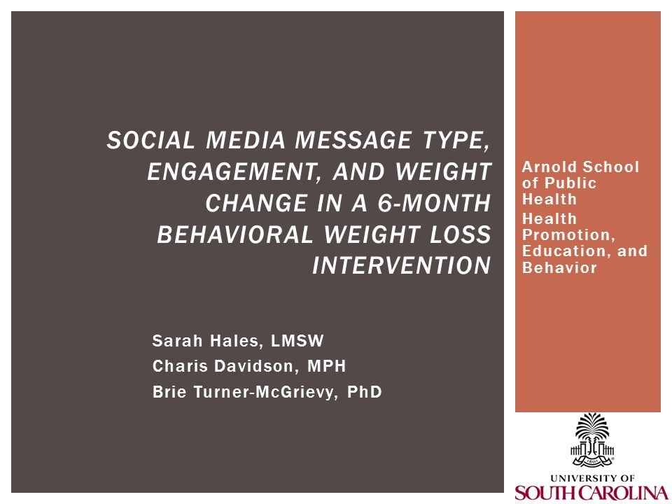  Messages soliciting feedback, such as polling features, prompt the most engagement when counselors post messages in a social network during a weight loss trial.