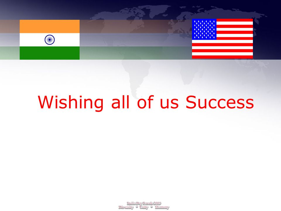 Wishing all of us Success