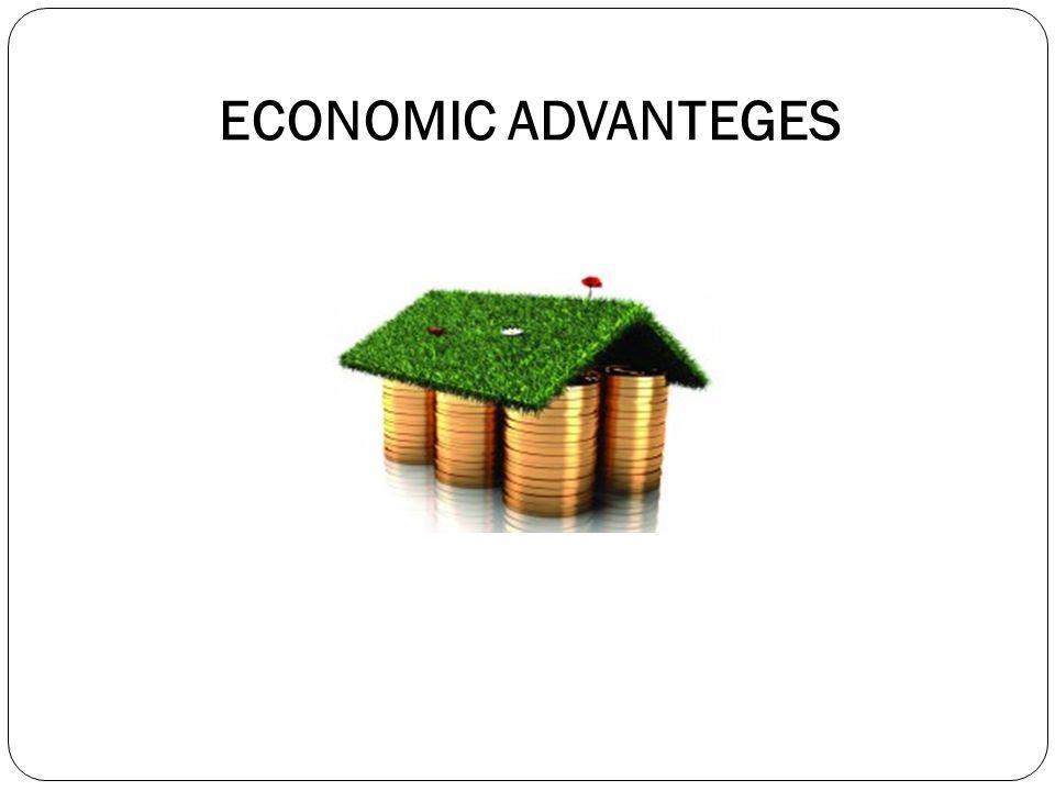 ECONOMIC ADVANTEGES