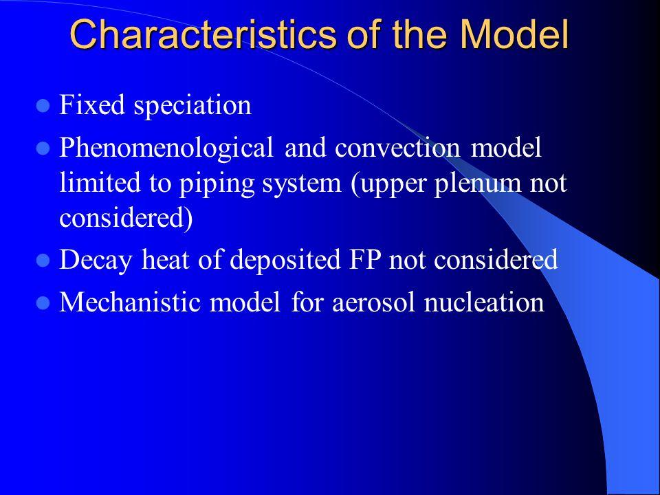 Analytical Equations Analytical Equations Vapor species Aerosol Species