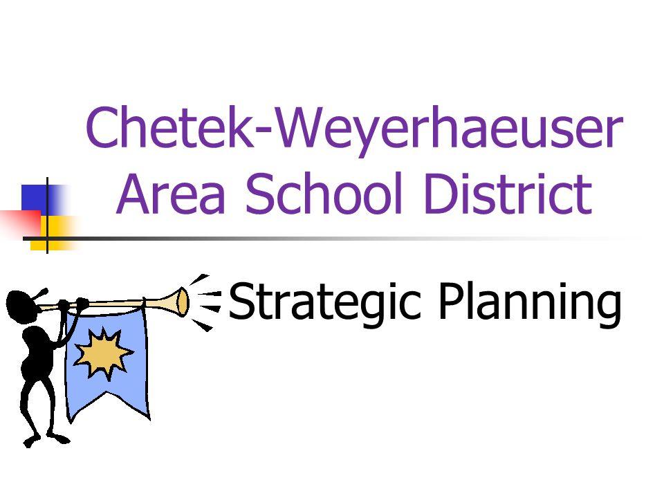 Chetek-Weyerhaeuser Area School District Strategic Planning