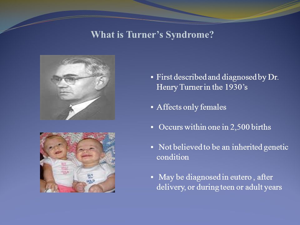 First described and diagnosed by Dr.