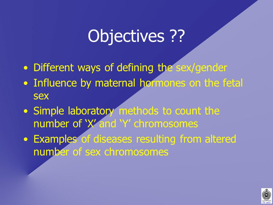 Objectives .