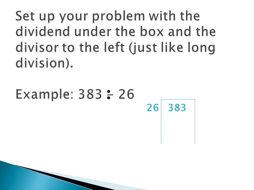 263831x= 2x= 52 4x=104 8x= 208 26 x 2= 52 52 x 2=104 104 x 2=208 x2 x2 x2 x2 x2 x2