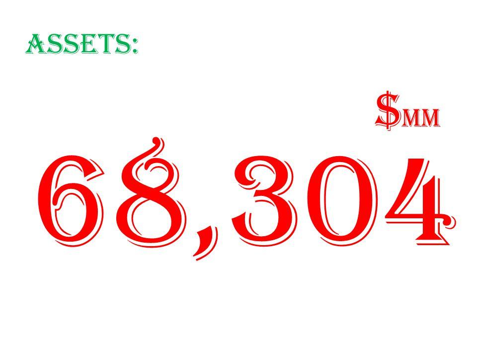 Assets: 68,304 $ mm